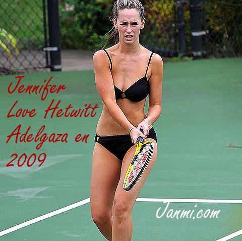 Jennifer Love Hetwitt en Agosto de 2009