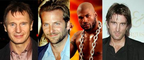 Liam Neeson (John Hannibal Smith), Bradley Cooper (Templeton Peck), Quinton 'Rampage' Jackson (M.A. Barracus) y Sharlto Copley (Murdock)
