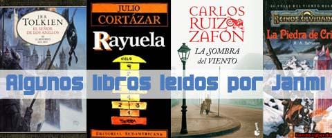 Algunos de los libros leídos por Janmi sin crítica en este Web