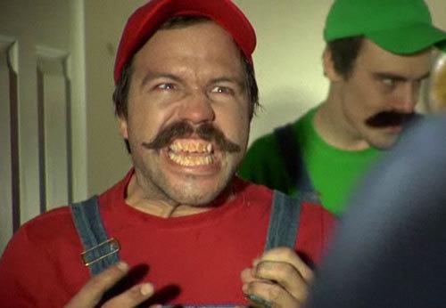 Mario Bros y Luigi reales
