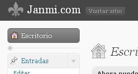 logo personalizado en panel administración de WordPress