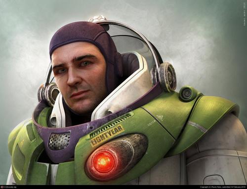 Buzz Lightyear en carne y hueso
