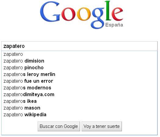 Google Zapatero