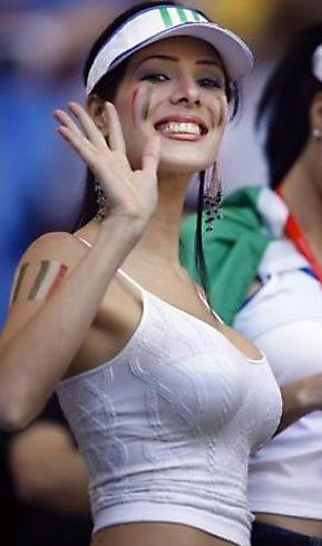 chica sexy del mundial de futbol de sudafrica