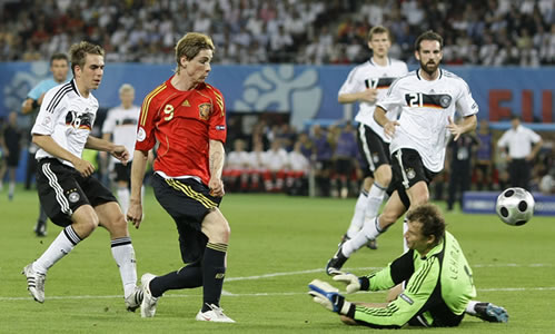 gol de torres en la eurocopa contra alemania