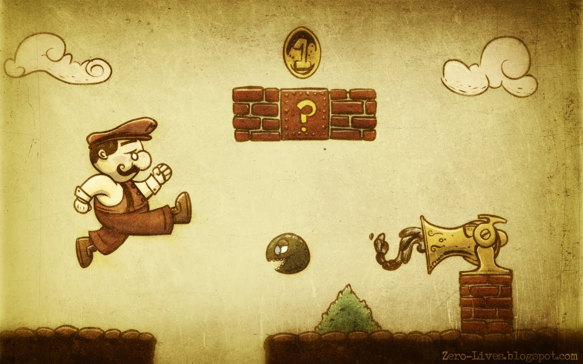 Mario bros retro for Imagenes retro vintage