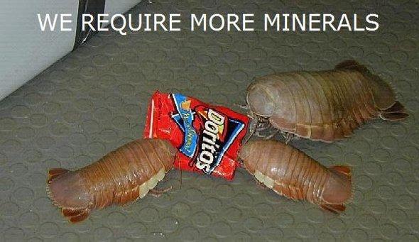 necesitamos más mineral