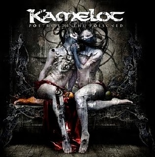 KAMELOT Poetry For The Poisoned COVER