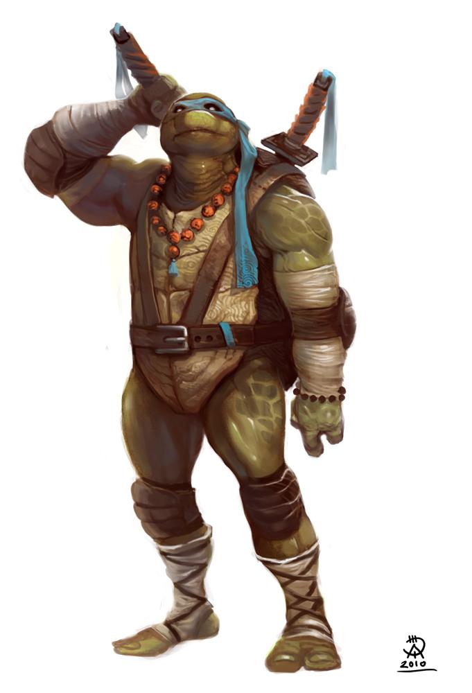 Tortuga Ninja realista