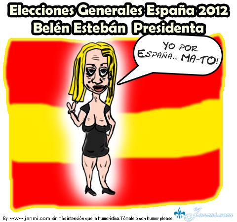 Candidata a presidenta en las elecciones generales de España 2011
