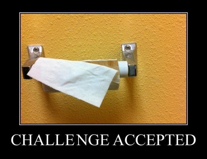 desafío aceptado