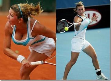 Simona Halep, fotos de la tenista tetona