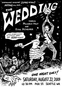 invitacion de boda estilo comic
