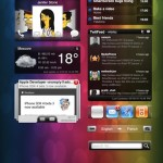 ipad - widgets - dashboard