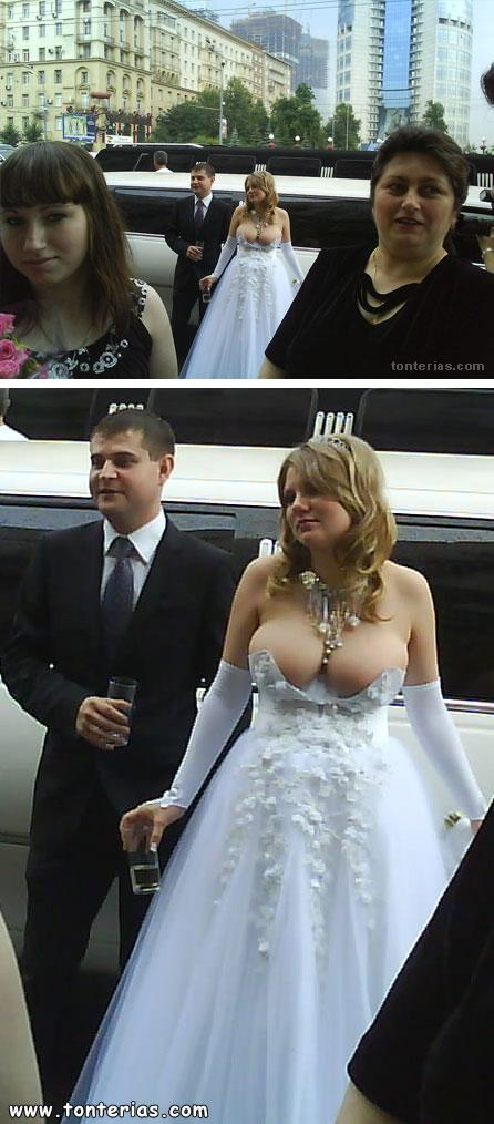 vestido de boda sexy