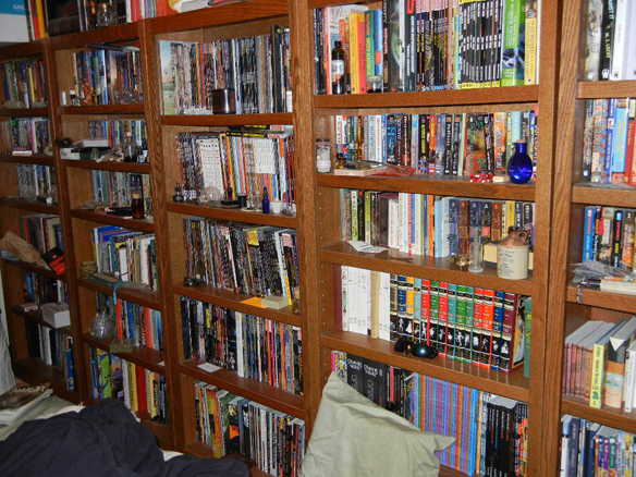 Biblioteca de Patrick Rothfuss