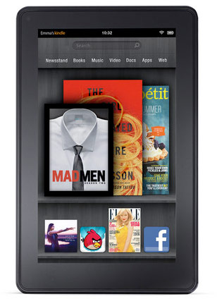 Nuevo tablet de Amazon: Kindle Fire