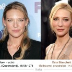 anna torv - cate blanchett