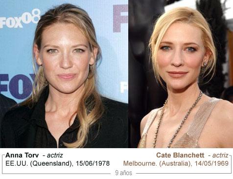 Anna Torv y Cate Blanchett
