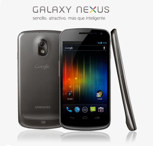 Galaxy Nexus – nuevo móvil de Google