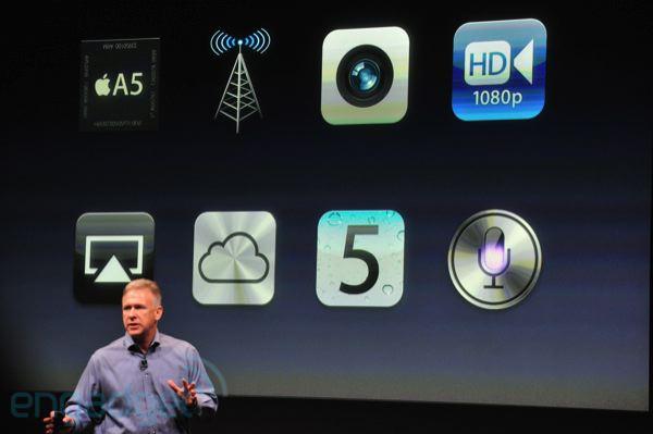 Novedades iphone 4s