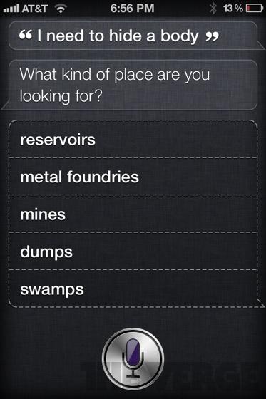 Preguntas a Siri de iPhone 4S