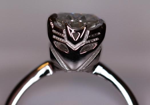 anillo compromiso decepticon