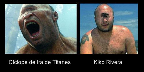 Cíclope de Ira de Titanes y Kiko Rivera