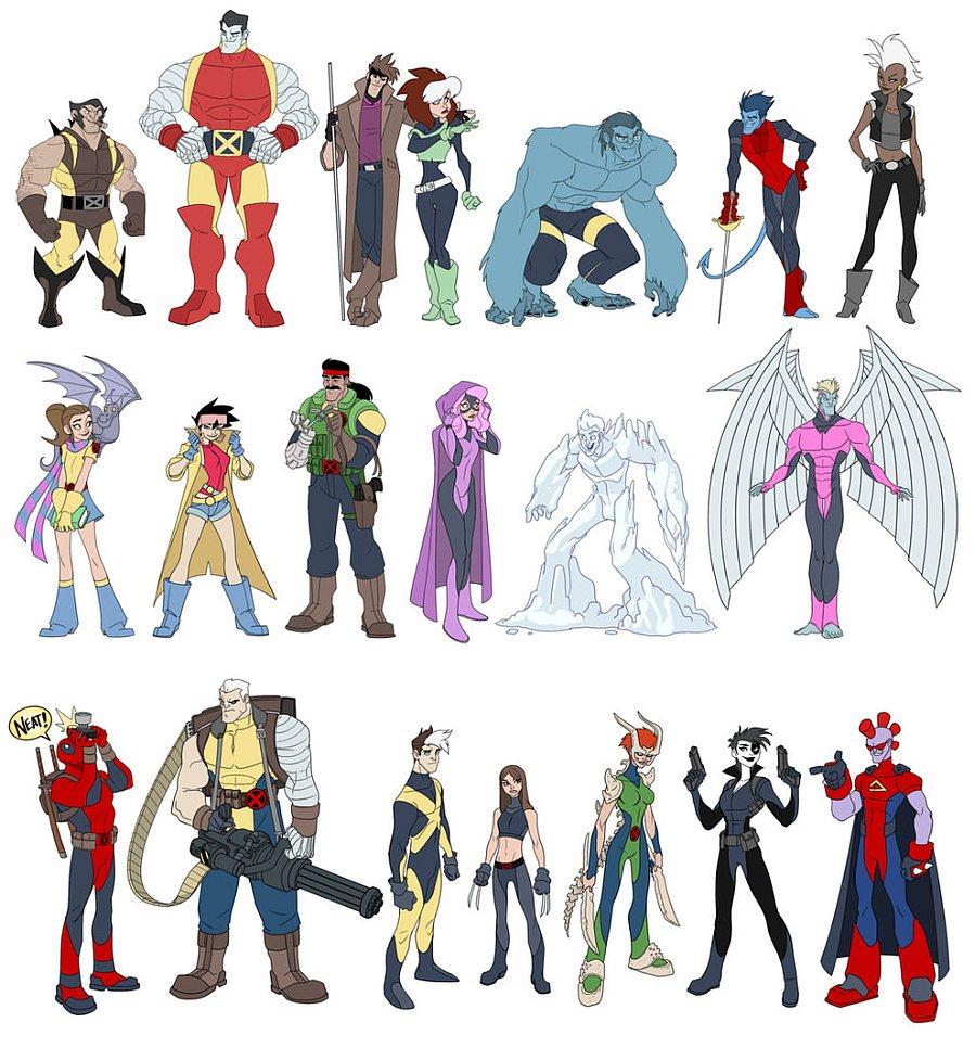 X-Men de Disney