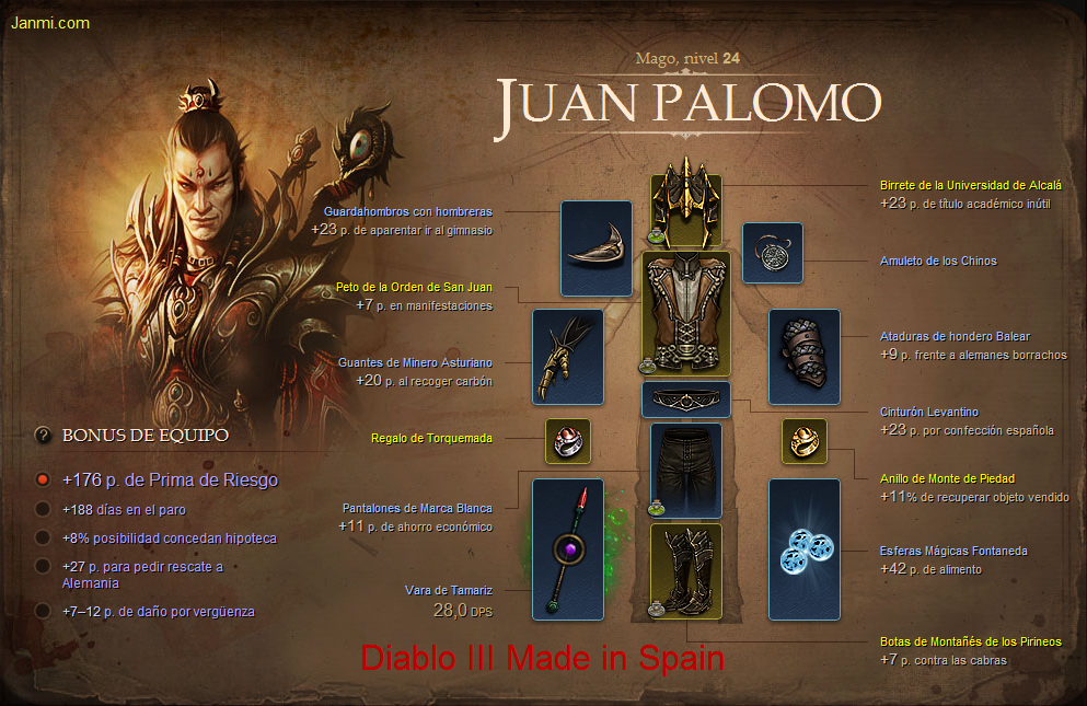 Diablo III Made in Spain