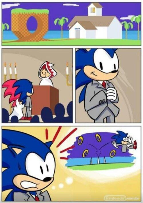 Sonic y los anillos