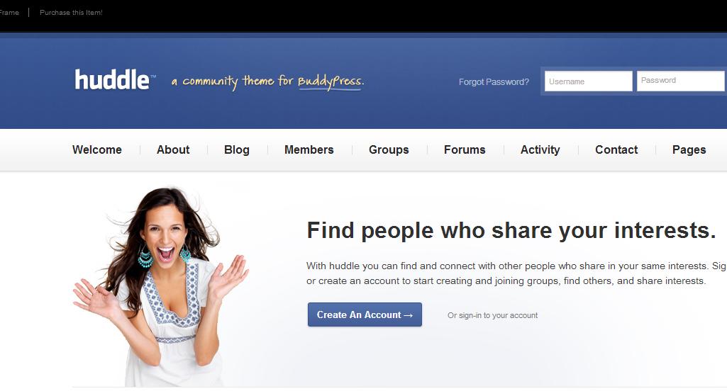 Temas de WordPress para páginas de contactos