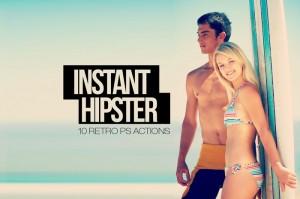 accion hipster para photoshop - efecto instagram para photoshop