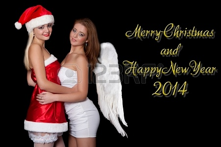 22565575-chicas-sexy-santa-claus-y-angel-esta-n-celebrando-con-las-palabras-feliz-navidad-y-feliz-aa-o-nuevo-