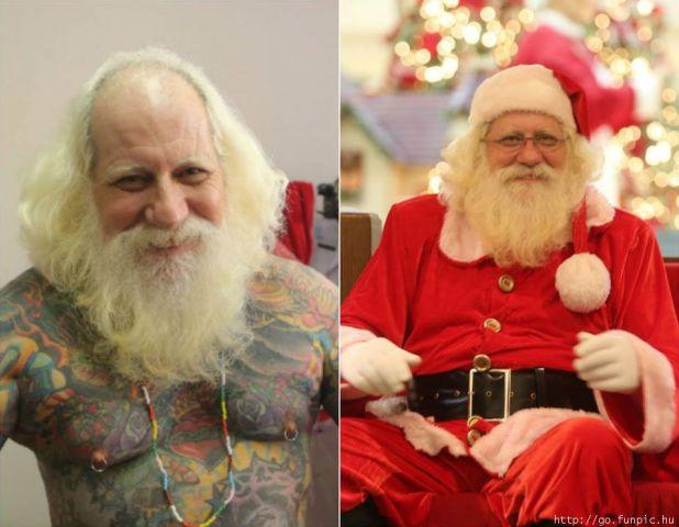 Lo que Papá Noel esconde en su interior