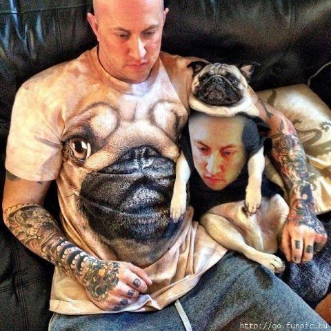 El perro en el amo y el amo en el perro