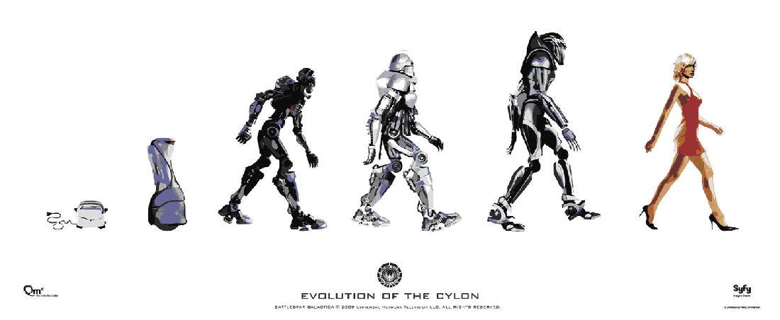 La evolución de los Cylon