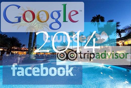 Consejos de Google, Facebook, TripAdvisor y Twitter a hoteleros para 2014