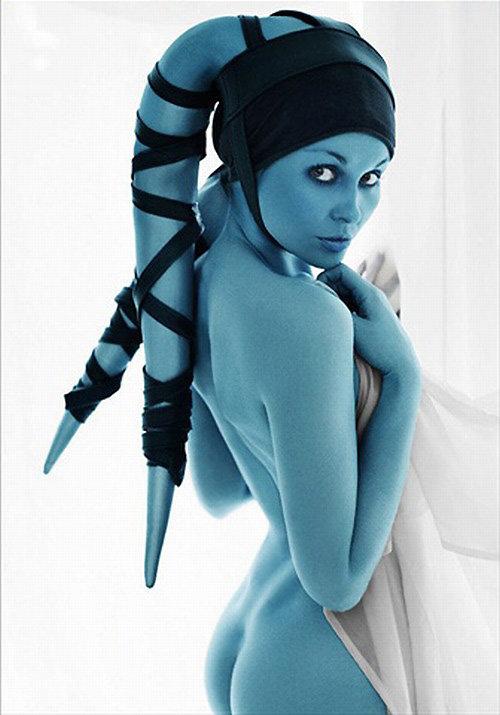 Aayla Secura cosplay