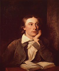Retrato de John Keats por William Hilton