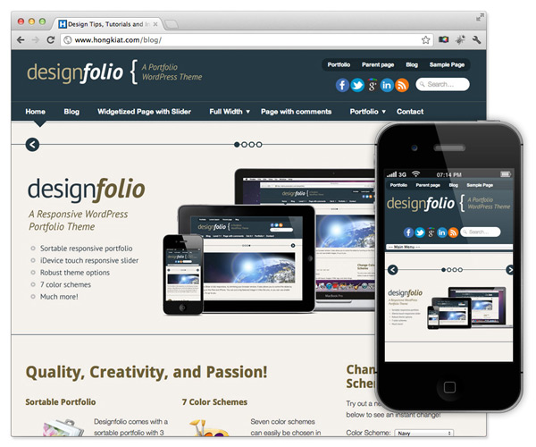 40 Temas Gratuitos Responsive Design para Wordpress