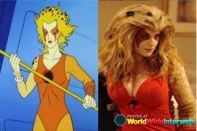 Cheetara de Thundercats