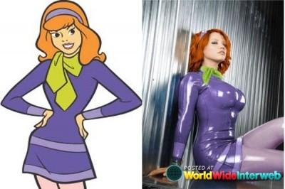 Daphne de Scooby Doo