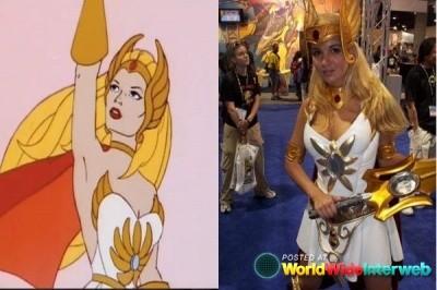 She-ra cosplay