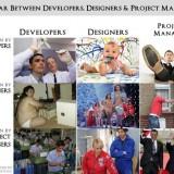 La guerra entre programadores, diseñadores y jefes de proyecto
