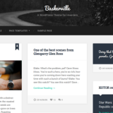 Elegante tema de WordPress, Responsive Design, gratuito
