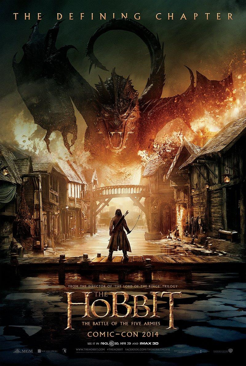 El Hobbit - La Batalla de los Cinco Ejércitos  - Póster