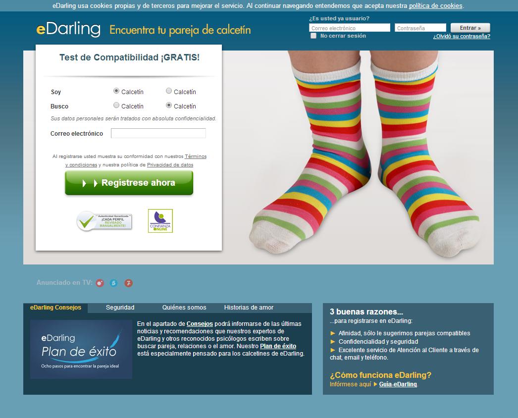 edarling para calcetines