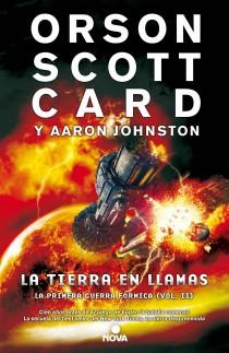 la tierra en llamas - portada del libro