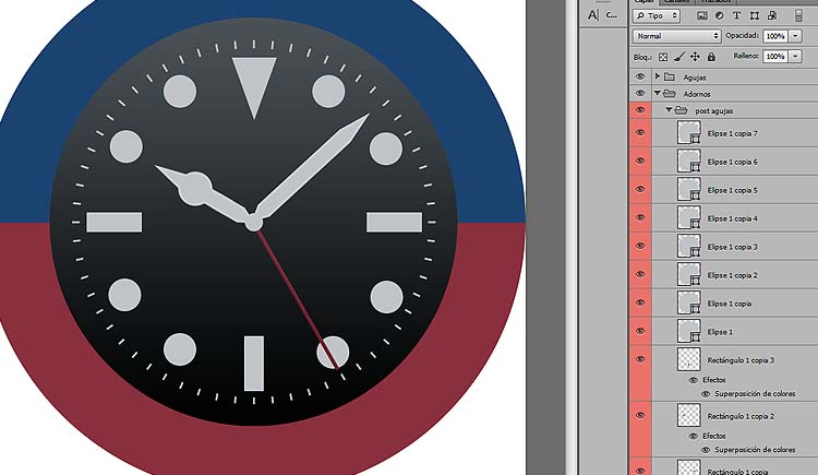08 - Como disenar watchface para smartwatch con photoshop